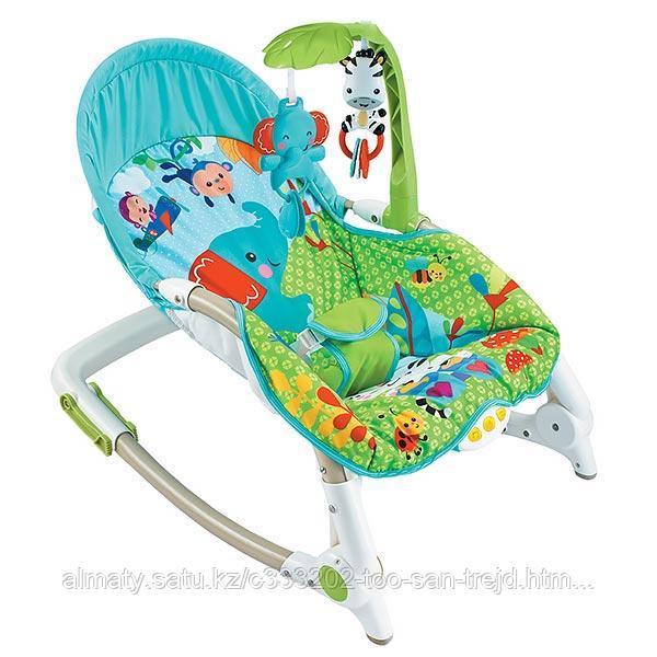 Кресло-качалка Fitch Baby( слоненок,львенок,жираф)