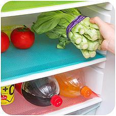 Антибактериальные коврики для холодильника 4 шт. цвет зеленый, фото 3