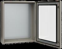 Корпус металлический ЩМП-4-0 У2 IP54 с прозрачной дверцей IEK