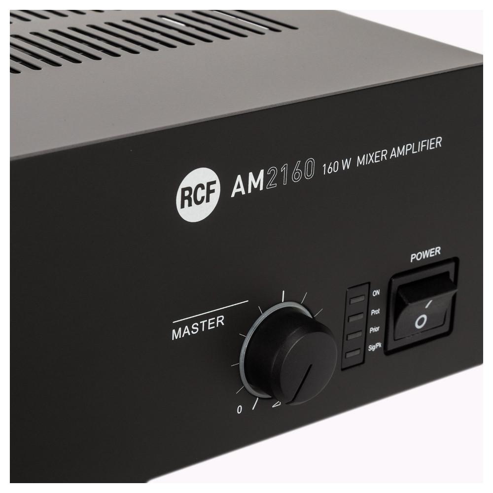 Микширующий трансляционный усилитель RCF AM 2160 - фото 6