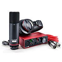 Комплект для звукозаписи Focusrite scarlett Solo Studio 3nd GEN