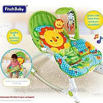 Кресло-качалка Fitch Baby( слоненок,львенок,жираф), фото 5