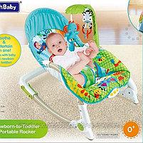 Кресло-качалка Fitch Baby( слоненок,львенок,жираф), фото 3