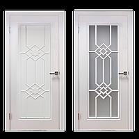 Межкомнатные двери Венеция эмаль белая