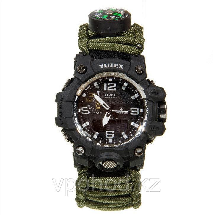 Часы-браслет для выживания из паракорда YUZEX 6 В 1
