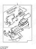 Ремкомплект двигателя дубликат MD977864 6G72 V3.0 pajero montero
