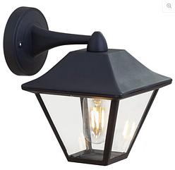 Уличное освещение Парк. Светильник RH 1876W-DN M.BLACK E27 наст.вниз