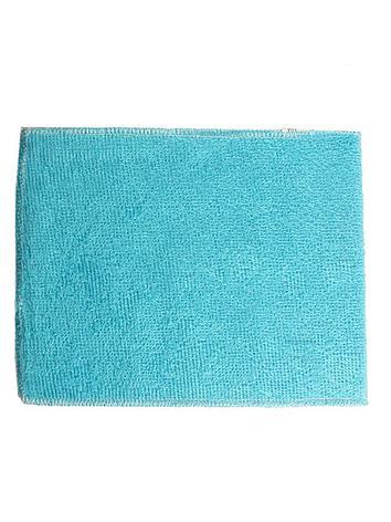 Бамбуковая салфетка для мытья посуды 18х23 см голубой, фото 2