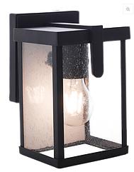 Светильник садовый RH1303W-1 M.BLACK E27 наст.вниз (TS)