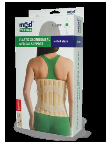 Корректор лечебно-профилактический с 4-мя ребрами жесткости эластичный 30011 L