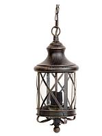 Садово-парковые светильники WATFORD 1755 3XE14 CLEAR, RUST, подвесной