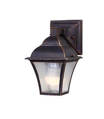 Светильник садовый RH1130W / 1 BLACK GOLD настенный (TS)