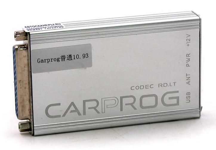 Программатор Carprog V10.93 Full