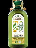 Зелёная аптека Шампунь Календула лекарственная и розмариновое масло для жирных волос