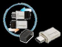 Transcend TS64GJF890S USB Флеш накопитель 64GB JetFlash 890, USB 3.0 метал