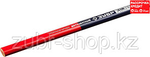 ЗУБР 180 мм, двухцветный, строительный карандаш КС-2 06310