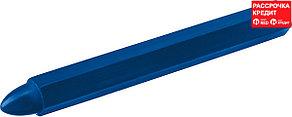 ЗУБР 6 шт, синие, мелки разметочные восковые 06330-7