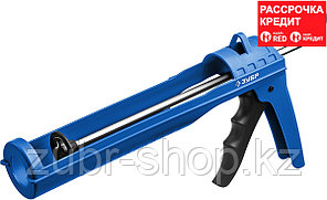 ЗУБР 310 мл, полукорпусной пистолет для герметика Дока 06627