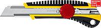 STAYER 18 мм, сегментированное лезвие, винтовой фиксатор KS-18, нож 09161_z01