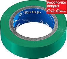 ЗУБР 15 мм х 10 м, изоляционная лента пвх электрик-10 1233-4_z02 Профессионал