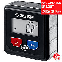 ЗУБР магнитный уровень-уклономер электронный МИКРО 34743_z01