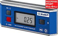 ЗУБР магнитный уровень-уклономер электронный МИНИ 34745_z01