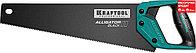 KRAFTOOL 11 TPI, 400 мм, ножовка для точного реза Alligator BLACK 15205-40