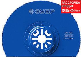 ЗУБР d 100 мм, сегментная пильная насадка СП-100 15567-100 Профессионал