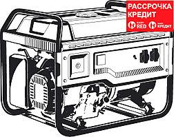 ЗУБР 5.5 кВт, с электростартером, бензиновый генератор СБ-5500Е
