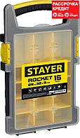 "STAYER 280 х 325 х 50 (15""), пластиковый, органайзер ROCKET-15 2-38031_z01"