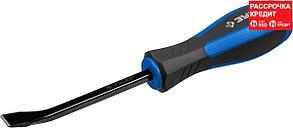 ЗУБР 200 мм, сталь 45, двухкомпонентная рукоятка, монтировка слесарная 2162-200_z01 Профессионал