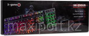 Игровая клавиатура  Game-X Геймерская с rgb подсветкой, фото 2