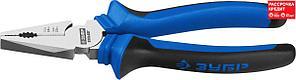 ЗУБР 180 мм, плоскогубцы Бульдог 2201-1-18_z02 Профессионал