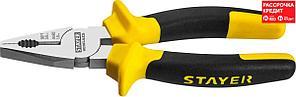 STAYER 180 мм, плоскогубцы комбинированные HERCULES 2203-1-18_z02