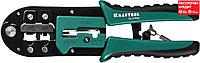 KRAFTOOL RJ45, RJ11/RJ12, кримпер универсальный 22698