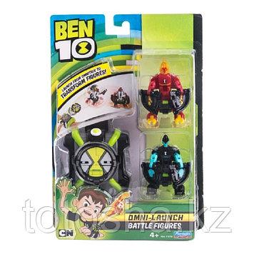 Ben 10 Набор Омнизапуск : Человек-огонь и Молния , 76791