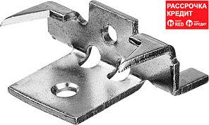 ЗУБР 80 шт, крепеж с шипами и дистанциром для террасной доски Союз 30701