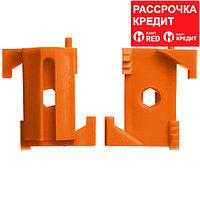 ЗУБР 100 шт, система крепления штукатурных маяков ВИНТ-100 30955-100
