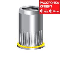 KRAFTOOL М6, 500 шт., стальные с насечками, уменьшенный бортик, резьбовые заклепки Nut-R 311708-06