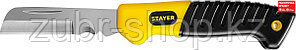 STAYER складной, прямое лезвие, нож монтерский SK-R 45408 Professional