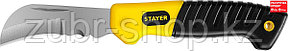 STAYER складной, изогнутое лезвие, нож монтерский SK-С 45409 Professional