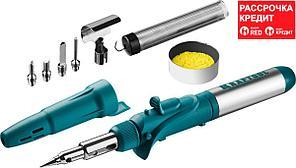 KRAFTOOL 5 насадок, 1300 °C, пьезоподжиг, паяльник газовый Pro в наборе 55503-H10