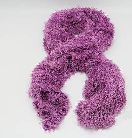 Шарф трансформер, цвет лиловый, фото 2