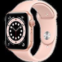 Смарт часы Apple Watch Series 6 GPS, 44mm Gold, Model A2292