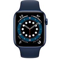 Смарт часы Apple Watch Series 6 GPS, 44mm Blue Aluminium Case with Deep Navy Sport Band - Regular, Model A2292