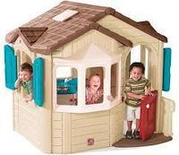 Домики детские из пластика и дерева