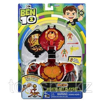 """Ben 10 Игровой набор """"Микро мир Человек-огонь"""" , 77721"""