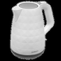 Электрический чайник Scarlett SC-EK18P49 белый, фото 1