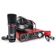 Комплект для звукозаписи Focusrite scarlett 2i2 Studio 2nd GEN