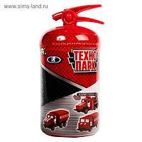 Машина металлическая «Пожарная техника» в огнетушителе, МИКС